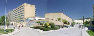 Fachada Hospital de Rehabilitación y Traumatología