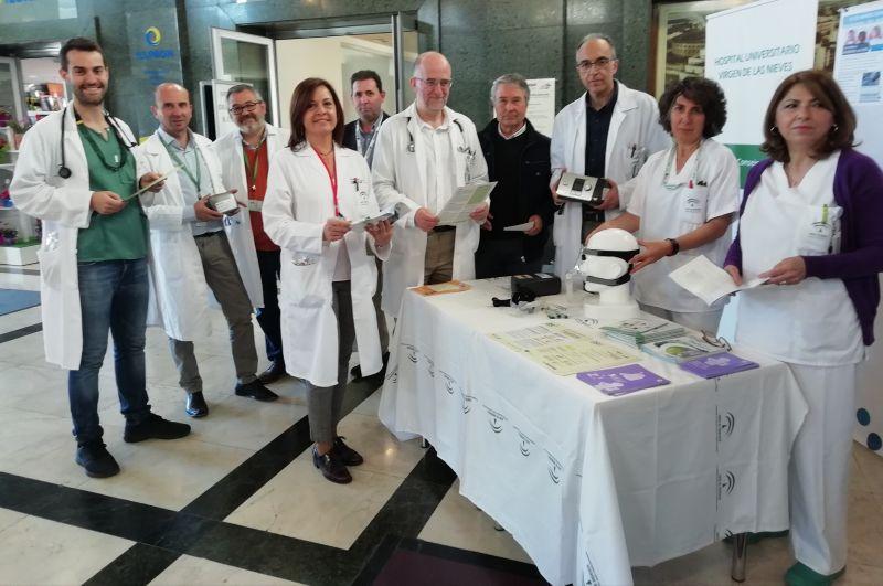 El Hospital Virgen de las Nieves mejora la calidad de vida de 40 pacientes con apnea del sueño gracias a un entrenamiento de hábitos saludables